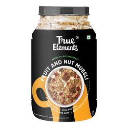 True Elements Fruit and Nut Muesli, 1000 grams