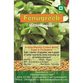 Fenugreek Methi Powder for Diabetics, 100 gms