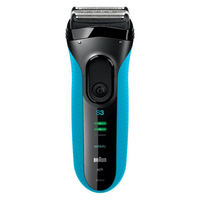Braun Series 3 3040 Shaver For Men (Black, Blue)