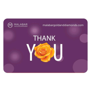 Malabar Gold and Diamonds Thank You Gift Voucher, 5000
