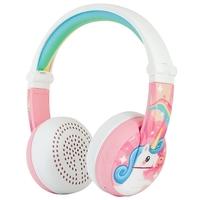 BuddyPhones WAVE Kids' Headphone - Unicorn Pink