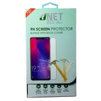 Inet Tempered Glass With Back Cover Samsung S20