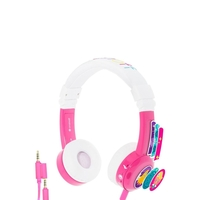 BuddyPhones In Flight Headphones - Pink