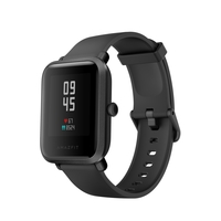 Amazfit Bip S Smart Watch, Carbon Black