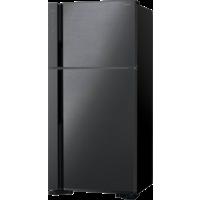 Hitachi RV760PUK7KBBK 760L Top Mount Refrigerators, Brilliant Black