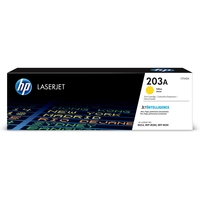 HP 203A Original Laser Jet Toner Cartridge, Yellow