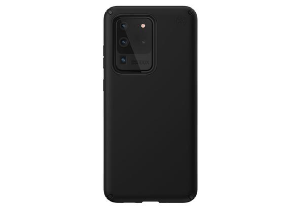Speck Presidio Pro Case for Samsung Galaxy S20 Ultra, Black/Black