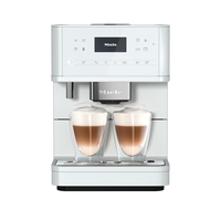 Miele Fully Automated Coffee Machine CM 6160 MilkPerfection, Lotus White