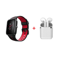 Xcell G1 Watch with Soul 2 Pro Airpods,  Red
