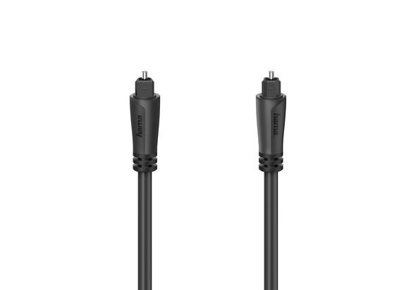 Hama HAM-122258 Audio Fiber optic cable, Gold-plated, 5.0 m