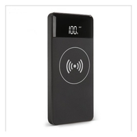 Inet Wireless Power Bank 10000mAh with QC and PD Charging Black