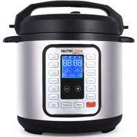 NutriCook Smart Pot Pressure Cooker 6L 8pc Set