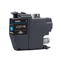 Brother LC3717C Cyan Ink Cartridge, Cyan
