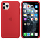 Apple iPhone 11 Pro Max Silicone Case, (PRODUCT) RED
