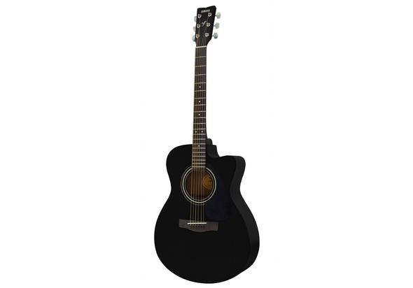 Yamaha FS100 Mini Acoustic Guitar, Black