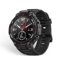 Amazfit T-Rex Smartwatch, Rock Black