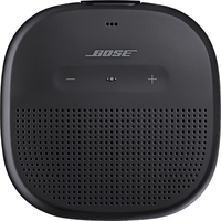 Bose SoundLink Micro Bluetooth Speaker, Black with Black Strap