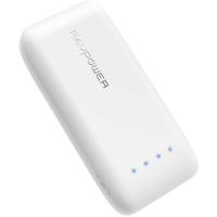 RAVPower 6700mAh Premium Portable Power Bank,  White