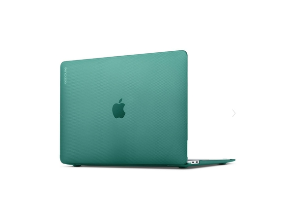 Incase Hardshell Case Dots For MacBook Pro 15  Thunderbolt 3 - Forest Green