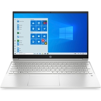 HP Pavilion 15-EG0003NE i7-1165G7, 16GB, 1TB SSD, MX450 2GB Graphics, 15.6 FHD Laptop, Silver