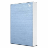 Seagate Backup Plus Slim 2TB External Hard Drive Portable HDD, Light Blue