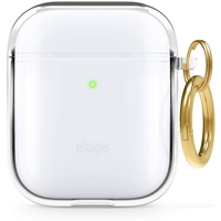 Elago EAPCL-HANG-CL for Apple Airpods 1 & 2 Clear Case