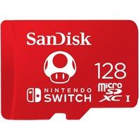 SanDisk 128GB MicroSDXC UHS-I Memory Card for Nintendo Switch - SDSQXAO-128G-GNCZN