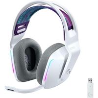 Logitech G733 Ultra-Lightweight Wireless Gaming Headset, White