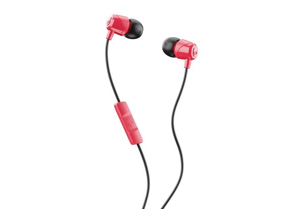 Skullcandy Jib Wired In-Ear Headphones,  Red/Black/Red