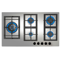 Teka 90 cm Built-In Gas Hob EFX 90.1 5G AI AL DR LEFT, 5 Burners