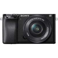 Sony Alpha a6100 Mirrorless Digital Camera with 16-50 mm Power Zoom Lens