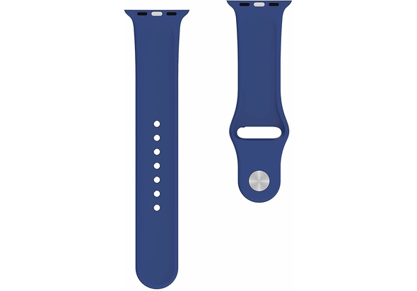 BeHello Premium Apple Watch Silicone Strap 42/44mm, Blue