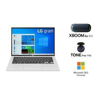 "LG GRAM 14Z90P i7-1165G7, 16GB RAM, 1TB SSD, Intel Iris Xe Graphics, 14"" WUXGA Laptop, Silver"