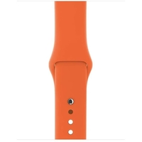 Apple MQUT2ZM/A S/M/L Sport Band for 38 mm Watch - Spicy Orange (MQUT2ZM/A)