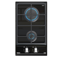 Teka 30 cm Built-in modular Gas on Glass Hob GZC 32300, 2 Burners, ExactFlame control