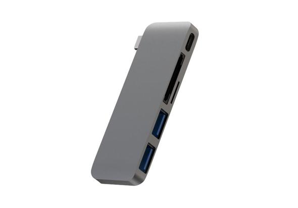 Addicted USB Type-C Adapter, Grey