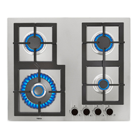 Teka 60 cm Built-In Gas Hob EFX 60.1 4G AI AL DR, 4 Burners