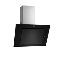 Teka 90 cm Wall-mounted Vertical range Hood DVT 98660 Black, 4 Speeds