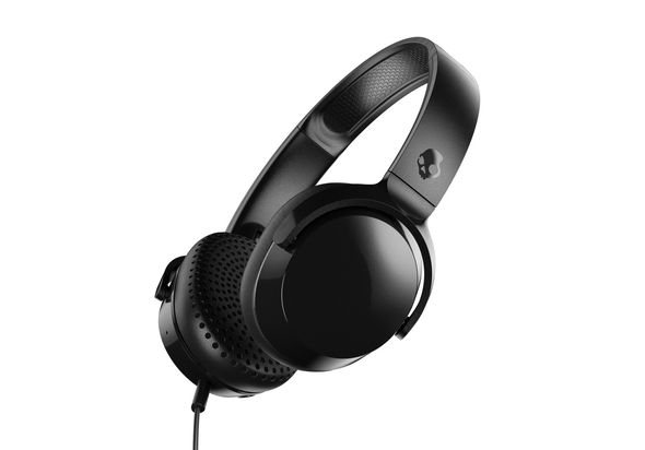 Skullcandy Riff On-Ear Wired Headphones,  Blue/Speckle/Sunset