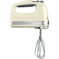 KitchenAid 5KHM7210 7 Speed Hand Mixer,  Almond Cream
