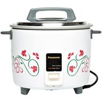 باناسونيك - طباخة الأرز التلقائية SRW18G سعة 1.8 لتر ، أبيض