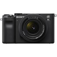 Pre Order Sony Alpha a7C Mirrorless Digital Camera with 28-60mm Lens, Black
