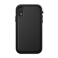Speck Presidio Ultra Case for iPhone XR, Black/Black