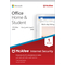 Microsoft Office 2019 Home & Student and McAfee Internet Security 1 Device Bundle
