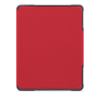 "STM Dux Plus Duo Case for iPad 9.7"" , Red"