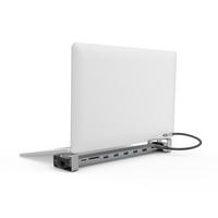 Hama 9in1 USB-C docking station for 4x USB-A, USB-C, HDMI™ , LAN, SD, microSD