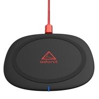 Adonit Wireless Fast Charging Pad 10W Qi, Black