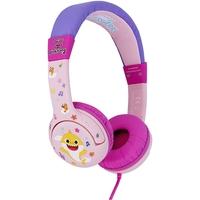 OTL BS0657 Baby Shark Pink Headphones for Children Pink