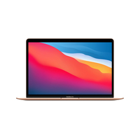 """Apple MacBook Air 13"""" M1 Chip with 8-Core CPU and 7-Core GPU, 8GB RAM, 256GB Arabic, Gold"""