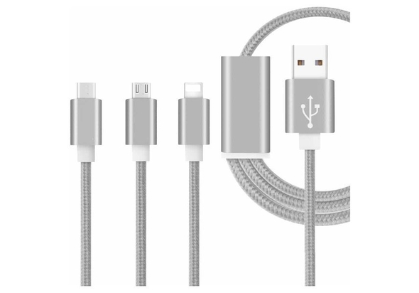 Xcell XL-CB-120MLC3 3in1 charging cable 3pcin1